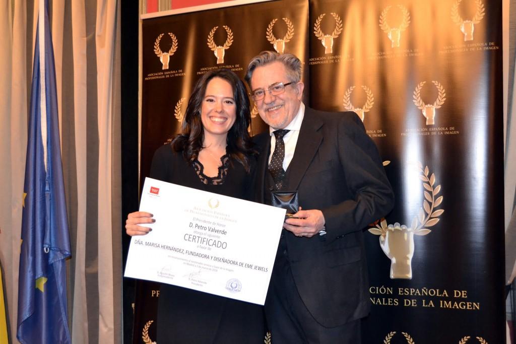 Marisa Hernández y Petro Valverde