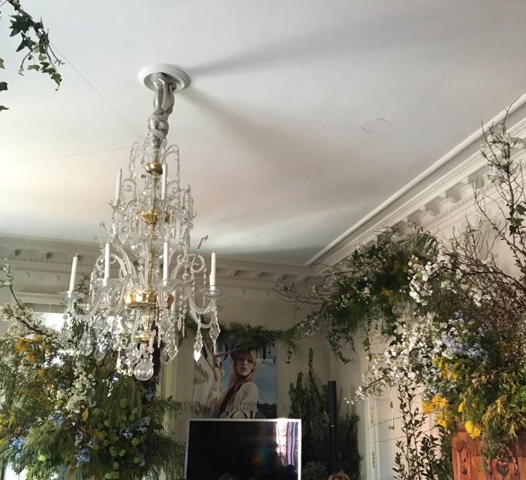 Espacios del maravilloso Palacio de Anglona decorados por Vogue