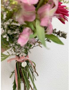 Bridal Bouquet Medal with...