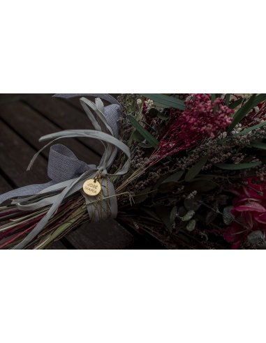 copy of Bridal Bouquet Medal with Chain