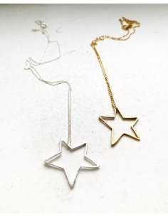 Shape of star Pendant
